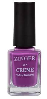 Zinger <b>Лак для ногтей</b> 12 мл <b>Creme</b> VIOLET OF MONTMARTRE (657)