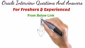 oracle technical interview question and answers oracle technical interview question and answers