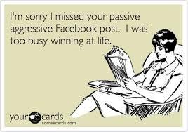social media posts on Pinterest | Facebook, Passive Aggressive and ... via Relatably.com