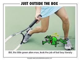 funny archives page of just outside the box cartoon ball boy bounce