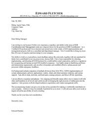 information technology cover letter sample sample technology cover letter