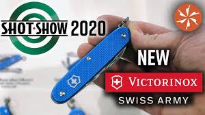 New <b>Victorinox Swiss Army</b> Knives at SHOT Show 2020 ...