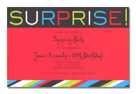 surprise birthday party invitation template com surprise birthday party invitation template right font selection for charming party 111165