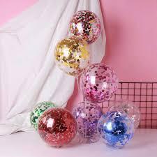 12inch 2.8g Circular <b>Sequined</b> Latex <b>Balloon</b> Thickening, <b>Wedding</b> ...