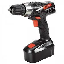 18v 3/8 in. Cordless <b>Drill</b>/Driver Kit With Keyless Chuck, 21 Clutch ...