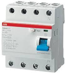 <b>Выключатель дифференциального тока</b> 4п 40А 300мА тип AC ...
