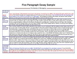 sample essay introductionfive paragraph essay sample five paragraph essay sample