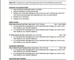 breakupus unusual resume objective examples journalism breakupus excellent best photos of chronological template resume examples extraordinary chronological resume template and pleasant