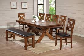 kitchen pedestal dining table set: acm  pc apollo country kitchen style collection distressed oak finish wood pedestal dining table set