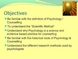 lecturepsychology as a science