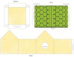 printable craft template birdhouse siding stucco walls to see more printable templates our bies section