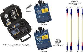 ANSI/TIA-568-C testing <b>LC</b> to <b>SC</b> (<b>Duplex</b> Singlemode) DTX-SFM2 ...