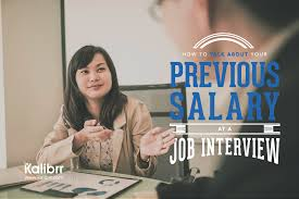 job interview tips career advicecareer advice toughquestions how to talk about your previous salary at a job interview
