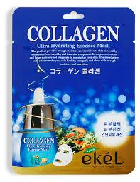 Купить <b>Маска тканевая для</b> лица Ekel Collagen с коллагеном, 25 ...