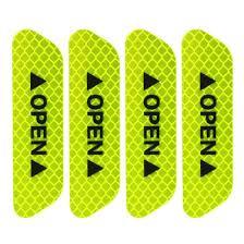 3M strong reflective fluorescent yellow-green reflective sticker <b>4</b> ...
