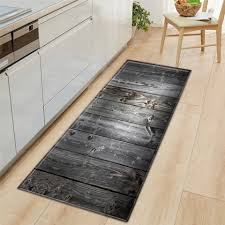 <b>Wood Grain</b> Kitchen Carpet Rectangle Square Absorbent <b>Nordic</b> ...