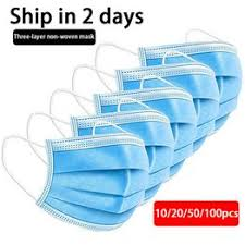 Safety mask dustproof air pollution pm2.5 flu disposable ... - Vova