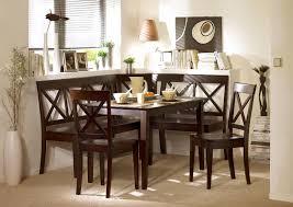 nook dining set black