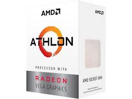 <b>AMD Athlon 200GE</b> 2-Core, 4-Thread, 3.2 GHz Base, Socket AM4 ...