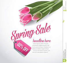 spring advertising background template eps 10 vector stock spring advertising background template eps 10 vector