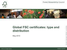 Facts & <b>Figures</b>   Forest Stewardship Council