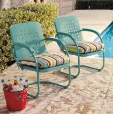 retro metal patio furniture retro apothecary style furniture patio