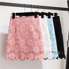 Beautiful Lace Short <b>Summer Women</b> Skirt <b>2019</b>, Lace Fashionable ...