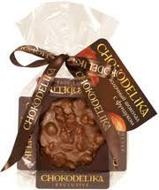 <b>Чокоделика</b>, <b>Молочный шоколад</b> с фундуком, плюшка, 30 г