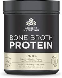 Ancient Nutrition Bone Broth Protein, Pure, Dairy Free ... - Amazon.com