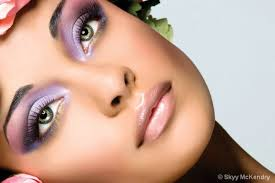 Image result for green eyes with green shadow