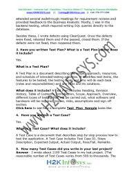 qa testing interview questions pdf flipbook