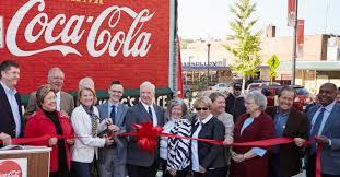 coca cola mural restoration coca cola bottling co coca cola bottling co consolidated office photo glassdoor