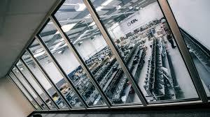 mezzanine floor overlooking warehouse operations agri office mezzanine floor
