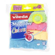 <b>Салфетка vileda</b> микрофибра <b>Colors</b> 4шт 150538