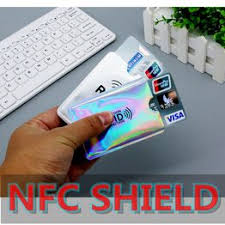NFC shielding card sets anti - theft brush protection IC bank ... - Vova