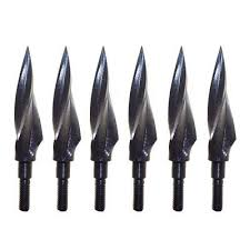 150 Grain <b>Archery</b> Arrowheads Broadheads Hunting Tips Screw ...