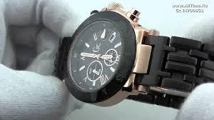 <b>Мужские</b> наручные швейцарские <b>часы Gc</b> I47000G1 - YouTube