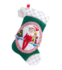 needle felting supplies felt applique kits jo ann elf on the shelf scout elf stocking felt applique kit 18 long