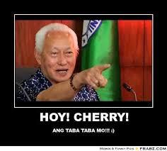 HOY! CHERRY!... - Mayor Lim meme. Meme Generator Posterizer via Relatably.com