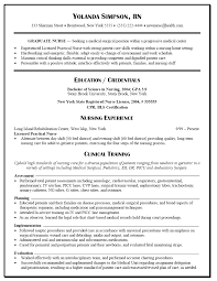 graduate nurse resume  resume templates