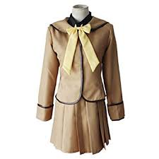 <b>Anime</b> Characters Cosplay Brown Campus Uniforms <b>Clothing</b> ...