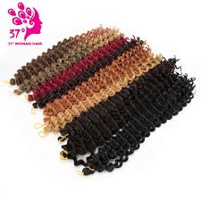 <b>Synthetic</b> ombre Afro freetress water wave crochet <b>braiding hair</b> ...