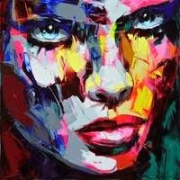 Nielly <b>Francoise</b> Face <b>Paintings</b>