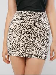 [26% OFF] 2019 <b>High Waist Leopard Print</b> Sheath Skirt In LEOPARD ...