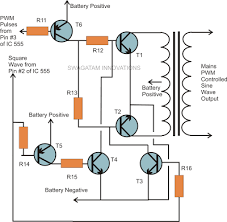 how to build a homemade pure sine wave inverter using ic 555 Sine Wave Inverter Circuit Diagram how to build a homemade pure sine wave inverter using ic 555 sine wave inverter circuit diagramusing 555