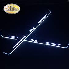 <b>LED Door</b> Sill Protector Step Scuff Plate For KIA Stinger 2018+ <b>2Pcs</b>