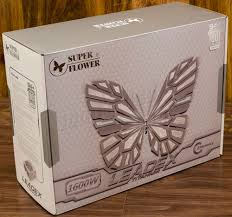 <b>Super Flower</b> LEADEX Titanium 1600W <b>Power Supply</b> ...