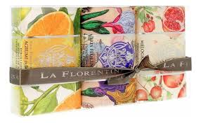 Купить <b>мыло</b> 3*200г (agrumi di boboli + lavanda + melograno) La ...