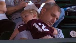 Image result for images of man sleeping with son