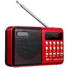 gocomma KK - 11 Mini Portable LCD Digital FM Radio <b>Speaker</b> ...